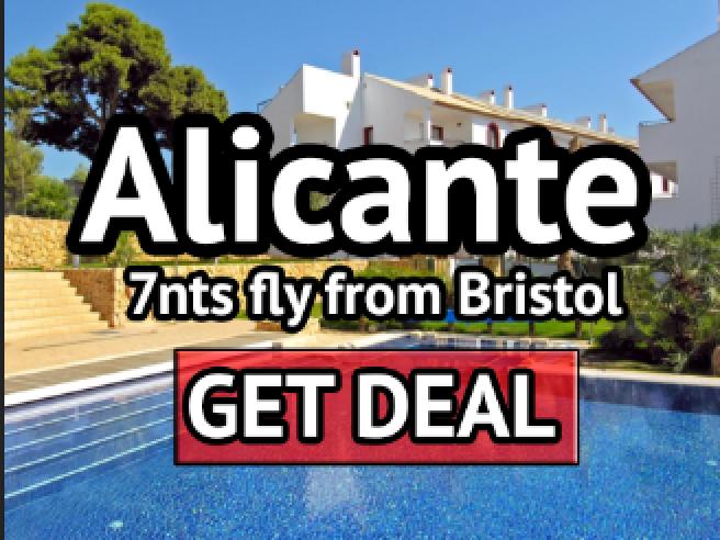 flights to alicante 2016 from bristol